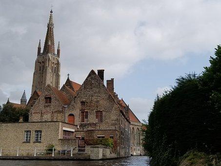 Brugges, Bruges, Belgium, Medieval, Europe