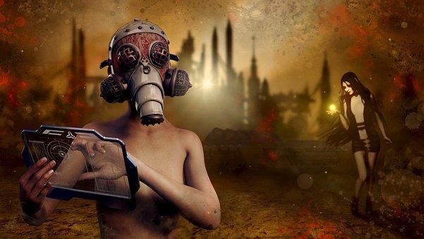 Fantasy, End Time, Destruction, Broken, Surreal