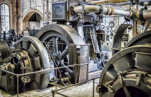 Lost Place, Generators, Turbines, Power Generation