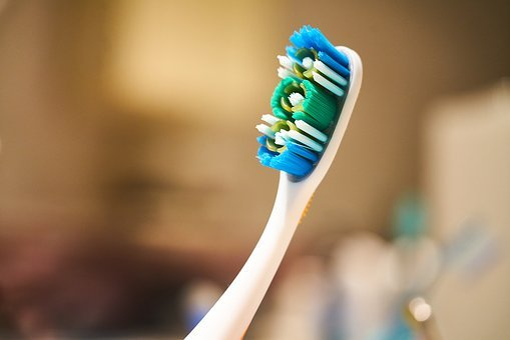 Toothbrush, Brush, Rotten, Blue, Macro, Maintenance