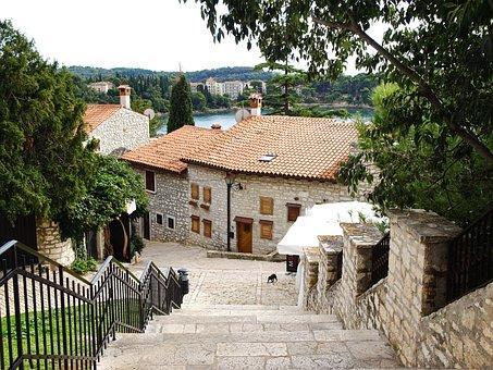 Croatia, Holiday, Rovinj, Port, Sea, Water, Maritime