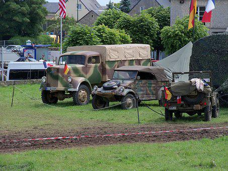 Wwii, Normandy, Military Vehicles
