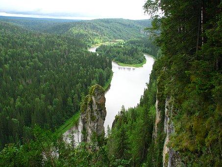 The River Usva, Osvenskii Posts, The Devil's Finger