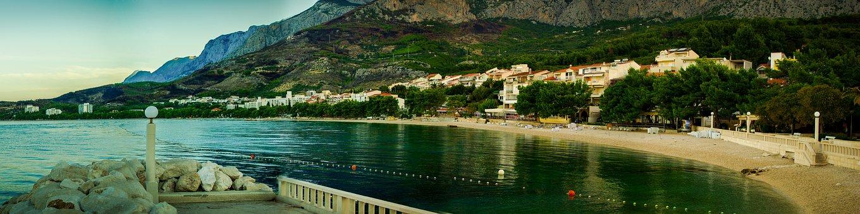 Panorama, The Coast, Croatia, Sea, Holidays, Beach, Sky