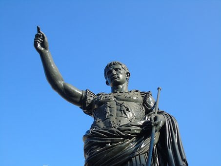 Cesar, Roman, Statue, Sculpture, History, Italy, Rome