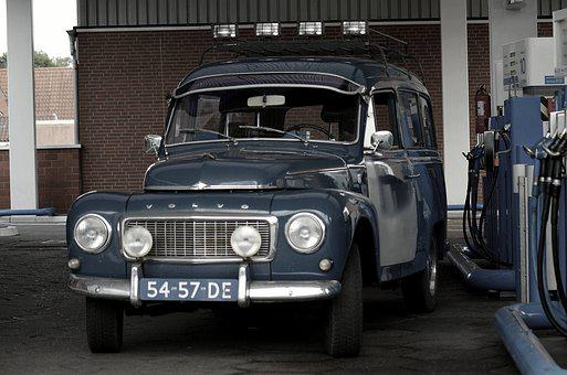 Oldtimer, Volvo, Classic, Auto, Leisure, Vehicles