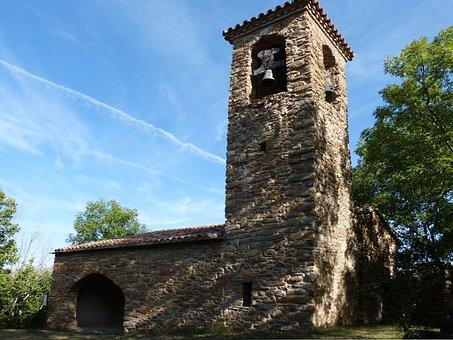 Iglésia Romanesque, Irgo, Alta Ribagorça, Bell Tower