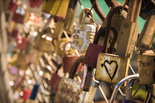 Love, Castle, Heart, Love Locks, Padlock, Bridge