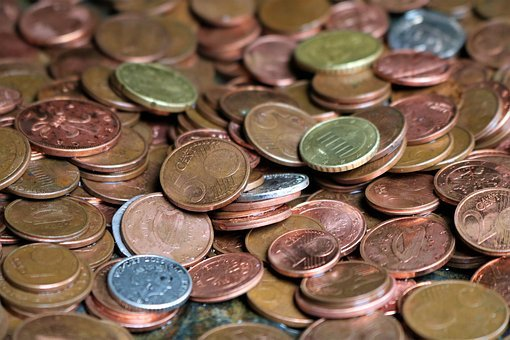 Currency, Money, Euro, Finance, Loose Change, Coins
