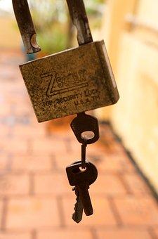 Locks, Key, Rust, Time