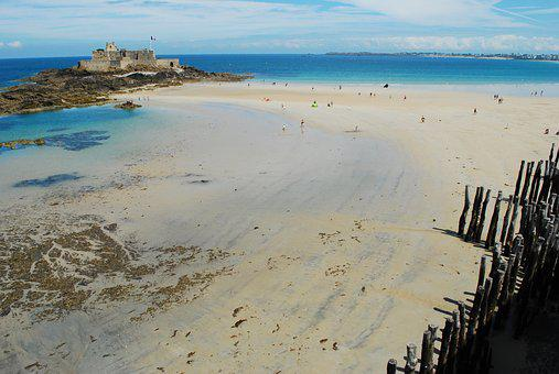 Saint-malo, Sea, France