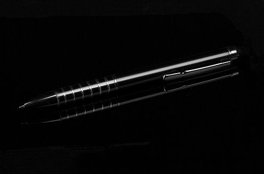 Pen, Ballpoint Pen, Old, Scratch, Light, Business