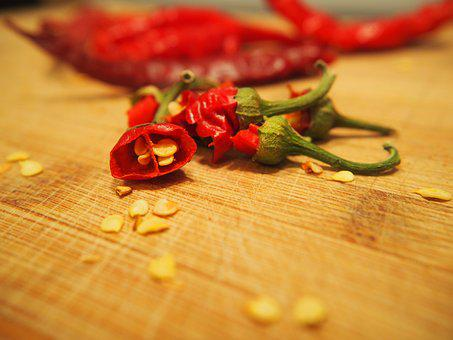 Chili, Sharp, Red, Cut, Spice, Sharpness, Chili Peppers