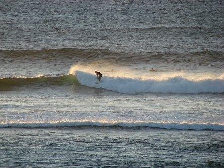 Surfer, Wave, Sea, Water, Ocean, Australia, Sport, Surf