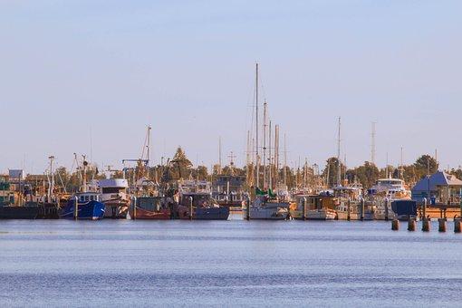 Boats, Ocean, Dock, Pier, Travel, Water, Ship, Summer