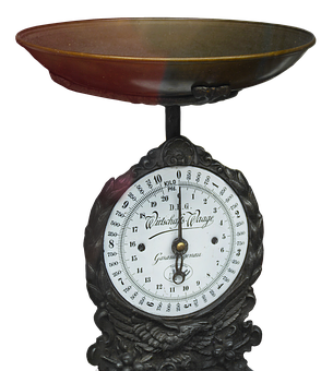 Horizontal, Kitchen Scale, Old Scale, Weigh, Weigh Out