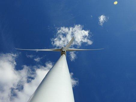 Turbine, Wind Power, Outdoors, Power, Wind, Energy