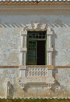 Old Window, Window, Balcony Old, Abandoned