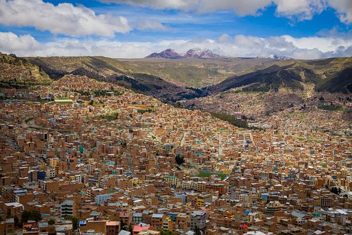 La Paz, South, America, La, Paz, Bolivia, Capital, City