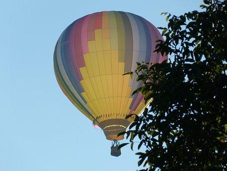 Sky, Blue, Balloon, Blue Sky