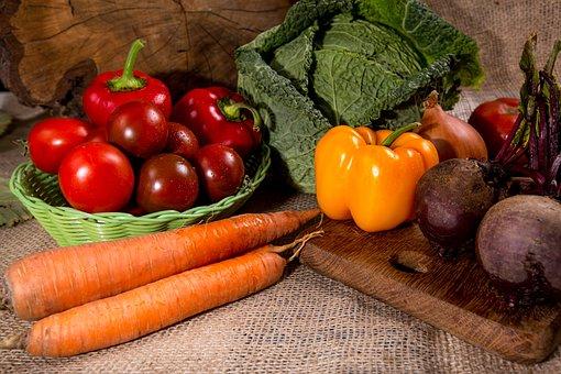 Still Life, Kitchen, Nutrition, Vegetables, Carrot