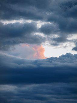 Clouds, Sky, Spotlight, Clouds Form, Dark Clouds