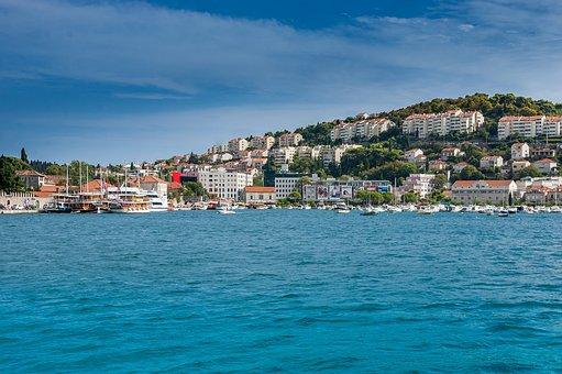 Dubrovnik, Croatia, Sea, Ship, Ships, Boats, Boat