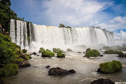 Iguazu, Iguacu, Iguasu, Falls, Waterfall, South