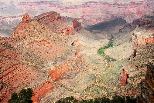 Landscape, Grandcanyon, South Rim, Usa