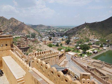 Amer Fort, Jaipur, Rajasthan, Historical, India