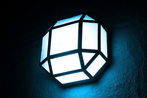 Lamp, Blue, Light, Bulbs, Current, Elektrik