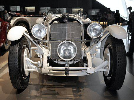 Car, Old, Mercedes, Automobile, Vintage, Vehicle