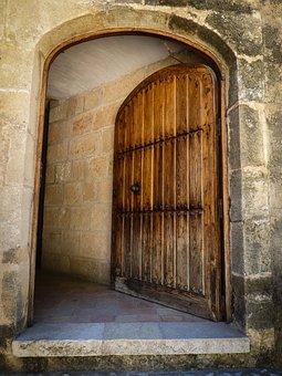 Door, Open, Entrance, Open Door, Opening Door, Old