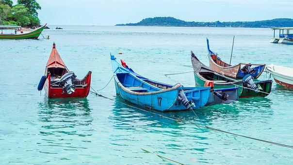 Boat, Sail, Sea, Ship, Water, Sail Boat, Sailboat