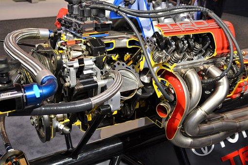 Super Charged Engine, Race Car Engine, Engine, Car