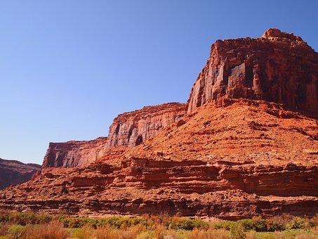 Utah, Sandstone, Mountain, Travel, America, Park
