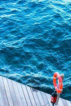 Sea, Water, Circle, Red, Nature, Beach, Marine