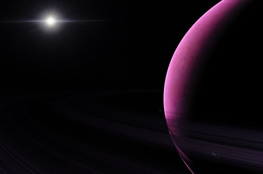 Astronomy, Exoplanet, Space, World, Star, Rings, Planet