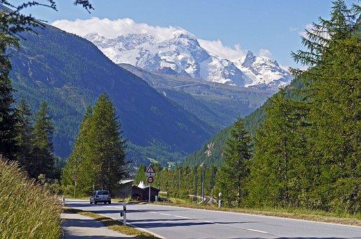 Switzerland, Valais, Zermatt, Matter, Alpine