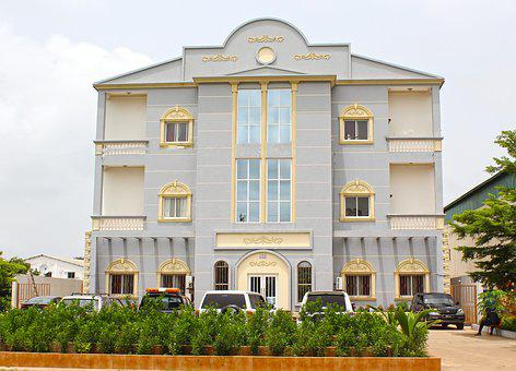 Office Building, Africa, Building, Office, Architecture