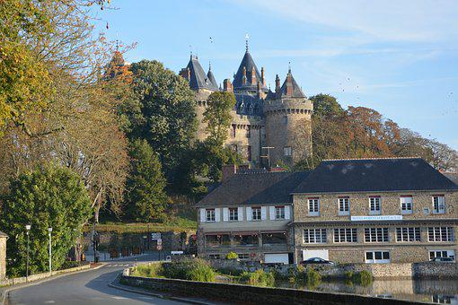 Landscape, Combourg, View Castle Hotel