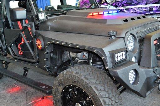 Afterfx Custom Jeep, Xrc, Black Jeep, Customized