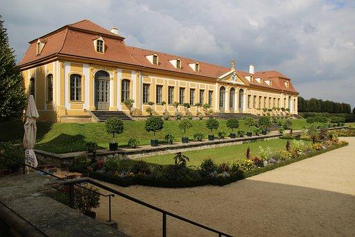 Barockgarten, Baroque, Großsedlitz, Barockschloss