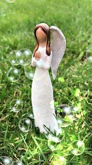 Angel, Hope, Spring, Romance, Prayer, Meadow, Faith