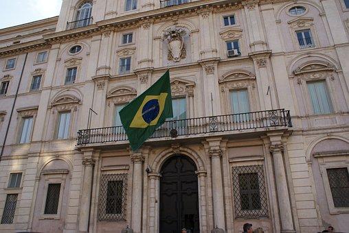 Consulate, Brazil, Brazilian, Rome, Italia