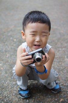 Kid, Photographer, Children