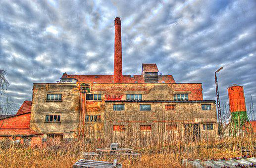 Factory, Lost Places, Old, Leave, Abandoned Places