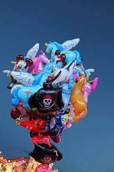 Balloon, Oktoberfest, Unicorn, Munich, Gas Filled
