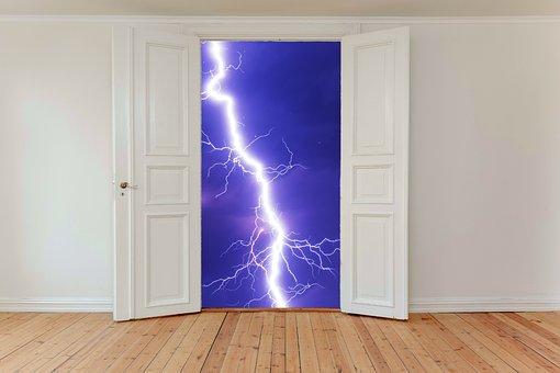 Hinged Doors, Door, Input, Old Door, Access, Wood Doors