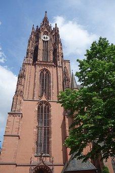 Frankfurt, Dom, Hesse, Places Of Interest, Architecture